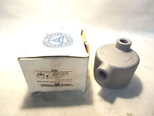 "NEW IN BOX APPLETON GRLB50 1/2"" MALL IRON JUNCTION OUTLET"
