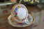 thumbnail 2 - Meissen White Porcelain Cup and Saucer with Floral and Gold Trim