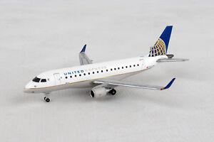 Herpa-Wings-United-Express-Embraer-E170-562584-Reg-N644RW-1-400-New