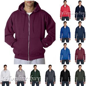 f20e3bba Champion - Unisex Hoodie Double Dry Eco Full-Zip Hooded Sweatshirt ...