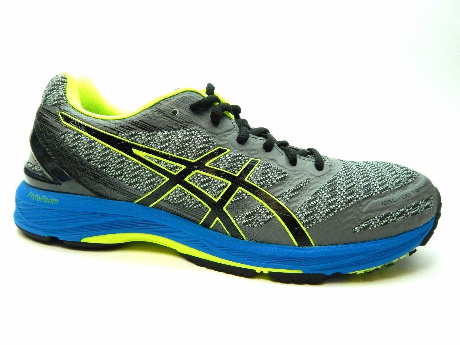 ASICS GEL DS TRAINER 22 CARBON BLACK YELLOW T720N 9790 MEN SHOES SIZE 7 & 8.5
