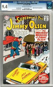Superman's Pal Jimmy Olsen #100 CGC 9.4 (OW-W) *0122317022*