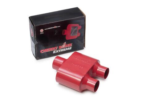 1996-1999  Chevy Silverado  Dual Exhaust Kit Cherry Bomb Extreme Chrome Tips