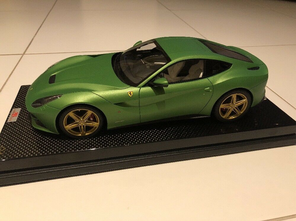 Mr Collection models ferrari f12 Berlinetta 1 18 verde Matt rareza    nº 1 rar