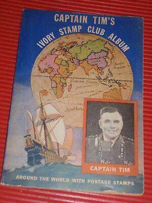 Zubehör Intellektuell Vintage Briefmarke Sammler Buch 1936 Captain Tim's