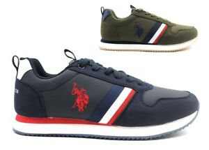 Scarpe da uomo US Polo ASSN Nobil 4243 sneakers basse comode eleganti