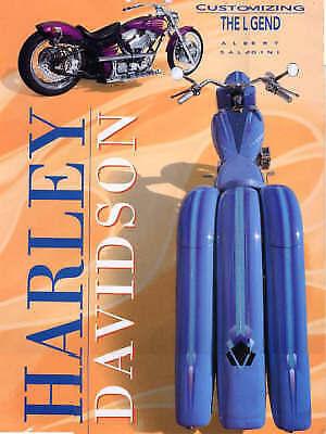 HARLEY DAVIDSON: CUSTOMIZING THE LEGEND., Saladini, Albert., Used; Very Good Boo