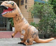 T-Rex DINOSAUR Inflatable Adult Costume TRex Costumes Halloween Party Dress