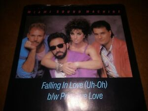 Miami Sound Machine - Falling In Love (Uh-Oh) at Discogs 1985