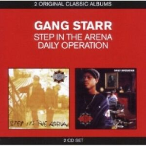 Gang-Starr-Classic-Album-2in1-2-CD-NEUF-Step-In-The-Arena-Daily