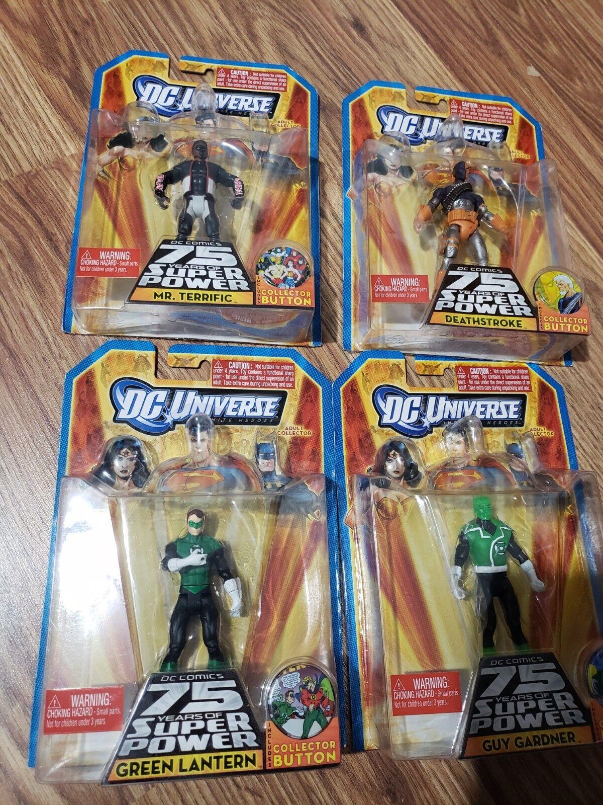 Dc universe infinite heroes action figure lot