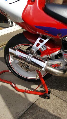 Honda CBR900RR Fireblade 96-99 RRT RRX SC33 Stainless GP PRO RACE Exhaust Can