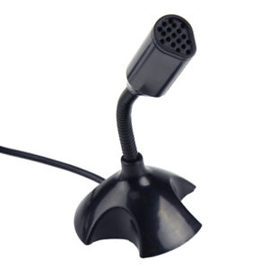 Details about Black Mini USB Microphone Mic For Raspberry Pi, Network Chat  Conferencing