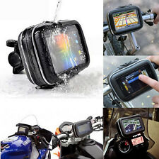 Waterproof Aseismatic Motorcycle Bike Mount Holder Case for 4.3 Garmin Nuvi GPS