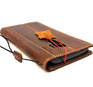 genuine-Natural-vintage-leather-Case-for-Samsung-Galaxy-S9-Plus-Cards-holder-ID