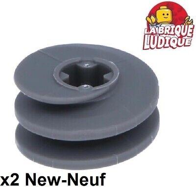 NEW!!! 27938 Lego 2x Technic Dark Bluish Grey Gear Worm Screw Short