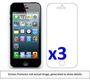 3x-Apple-I-Phone-5-Anti-Scratch-Screen-Protector-w-cloth