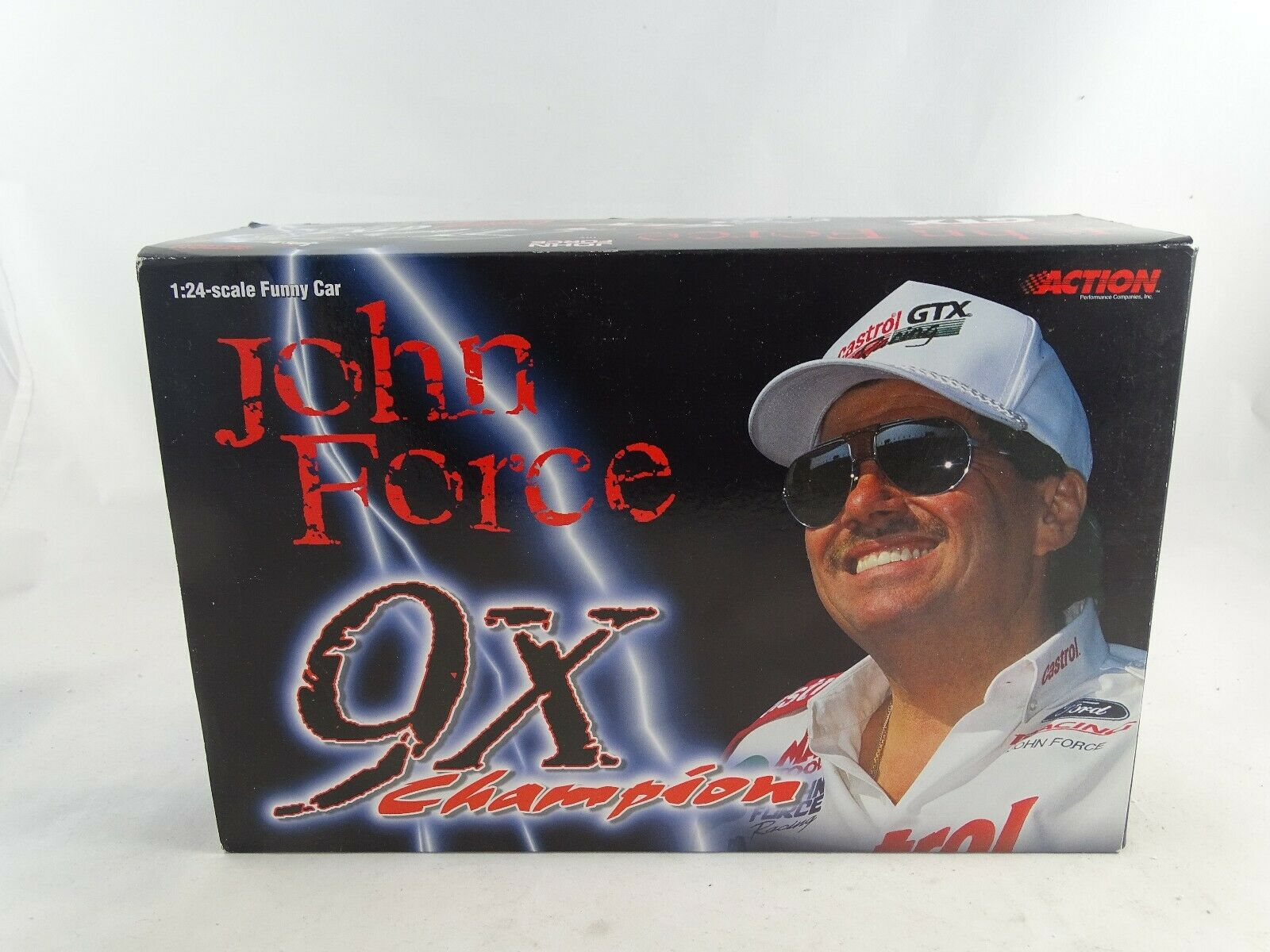 1:16 Action Collectables 2000 Mustang Divertente Auto Castrol GTX John Force