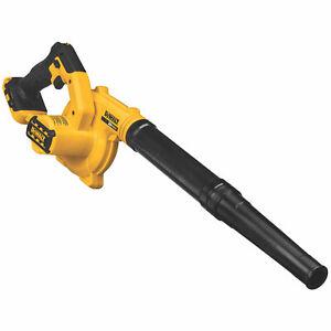 DeWalt DCE100B 20-Volt MAX Compact Cordless Jobsite Blower, 135 MPH, (Tool Only)