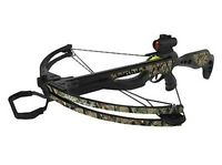 Barnett Jackal Crossbow Package With Quiver And Bolts And Red Dot 78404 on sale