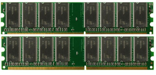 DDR Memory eMachines eMachines T3092 2GB 2X1GB