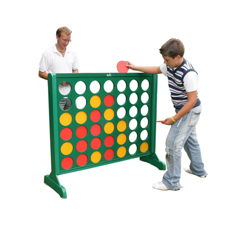 garden games wooden kids outdoor family fun game big 4 362031419224