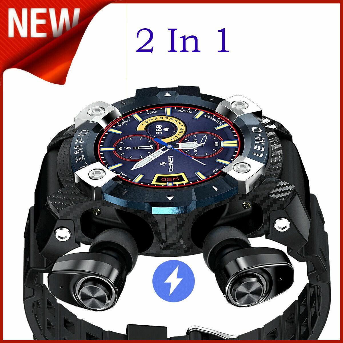 2in1 Sports Smart Watch Wristband Blood Pressure Bracelet w/ wireless earp 2in1 blood bracelet earp Featured pressure smart sports watch wireless wristband