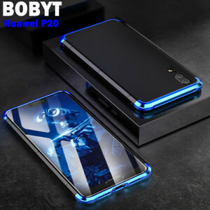 new style 29b5f 5bfa4 Details about BOBYT For Huawei P20/ Mate 20 Pro Luxury Metal Frame Case  Bumper Slim Back Cover