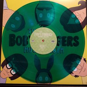Bob-s-Burgers-The-Bob-s-Burgers-Music-Album-Green-Vinyl-LP-ONLY-SIDE-A-B