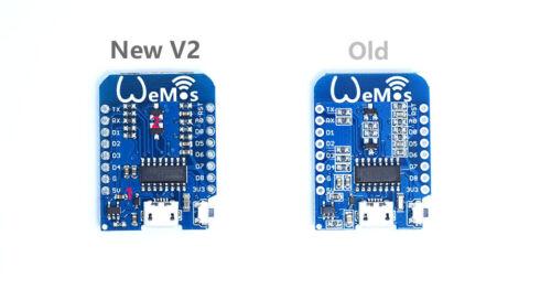 D1 mini V2 Mini NodeMcu 4M bytes Lua WIFI development ESP8266 by WeMos M99