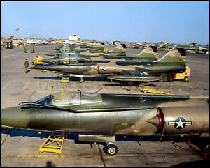 USAF-F-104-Starfighters-479th-TFW-1966-57-8x10-Aircraft-Photos