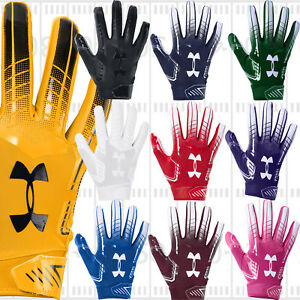 2019-Under-Armour-UA-F6-ADULT-Men-039-s-Football-Gloves-with-Grabtack-1304694-NEW