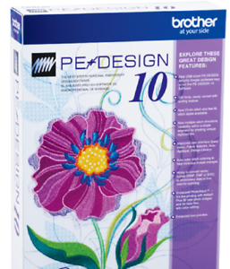 Free Gifts Instant Delivery Brother PE Design 10 Embroidery Full Software 2020