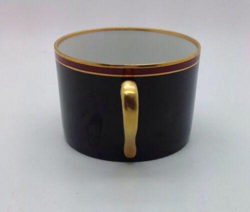 FITZ /& FLOYD KURUMA CINNAMON GOLD /& BLACK ESPRESSO COFFEE CUP VINTAGE