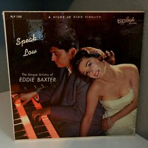 EDDIE-BAXTER-Speak-Low-12-034-Vinyl-Record-LP-EX-Cheesecake