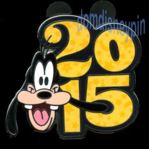 Disney Pin Year *2015* Character Mini Collection Goofy! Booster
