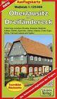 Oberlausitz und Dreiländereck 1 : 125 000 Ausflugskarte (2011, Mappe)