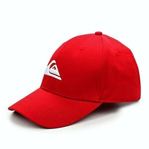 7f2706f4 Details about Quiksilver Decades Snapback Adjustable Men's Baseball Cap, Red  - NWT!