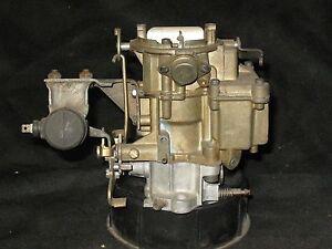 NOS-MonoJet-1-Bbl-7029167-1969-Pontiac-Tempest-6-cylinder-manual-trans-w-air