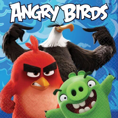 Bolsas De Fiesta invita a Decoraciones Globos Angry Birds Fiesta Suministros Vajilla