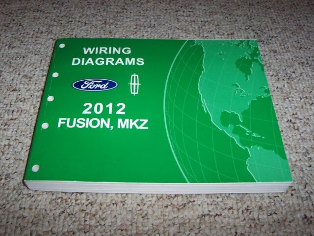 2012 Ford Fusion Electrical Wiring Diagram Manual S Se Sel
