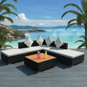 vidaXL-Garden-Sofa-Set-15-Pieces-Wicker-Poly-Rattan-WPC-Outdoor-Lounge-Seat
