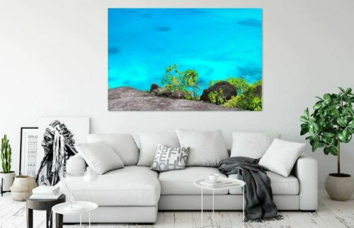 BEAUTIFUL BLUE WATER SCENERY art decor High quality Canvas print choose size