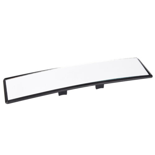 Universal 300mm Panoramic Curve Convex Interior Clip On Rear View Mirror FEH