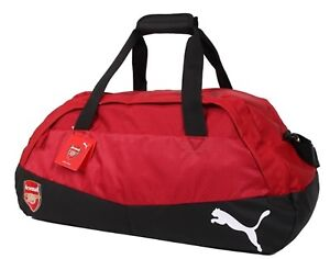 7b85f3498ccc Details about Puma Arsenal FC Performance Sports Medium Duffel Bags Red GYM  Bag Sacks 07491801