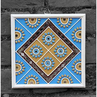 Wall hanging with traditional design