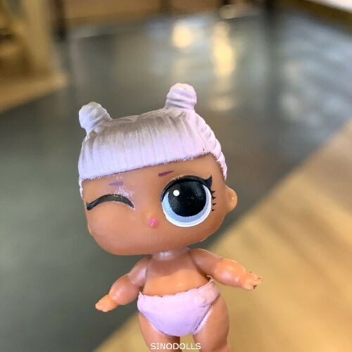 100 LOL Surprise Dolls LiL Sisters Queen Bee troublemaker Neon color changed