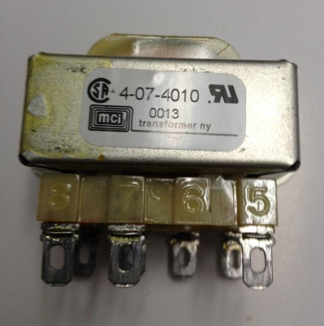 MCI 4-07-4010 Transformer Dual 115/230v Primary 6 VA 10vct@0.6a | eBay