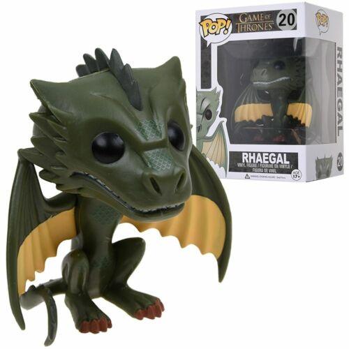 Game of Thrones Rhaegal /& Viserion /& DROGON Vinyl Figure Toys Neu Funko Pop