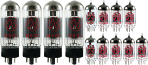Tube Set - for Fender Super Sonic Twin Combo JJ Electronics APEX Matched